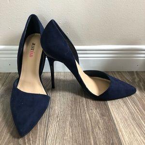 Chic navy high heels